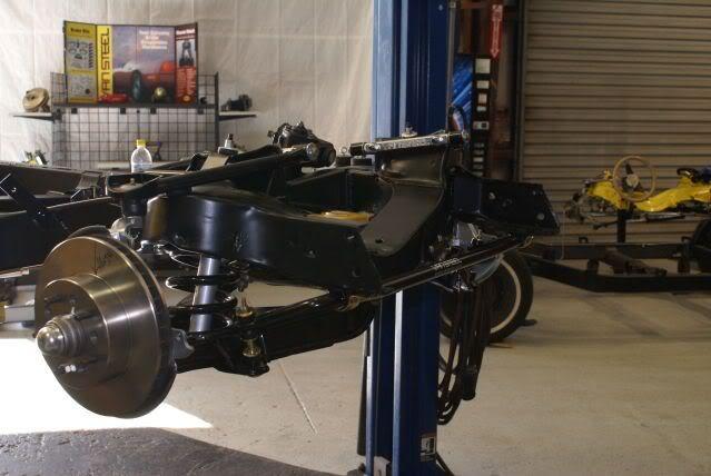 c4 front control arms on a c3  - Corvette Restoration Forum
